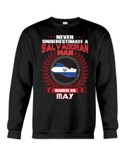 SALVADORAN-COOL-MAN-MAY Crewneck Sweatshirt thumbnail