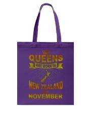 NEWZEALAND-GOLD-QUEES-NOVEMBER Tote Bag thumbnail