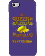 SWITZERLAND-GOLD-QUEES-SEPTEMBER Phone Case thumbnail