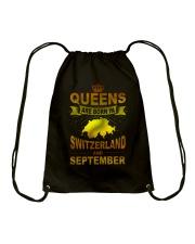 SWITZERLAND-GOLD-QUEES-SEPTEMBER Drawstring Bag thumbnail