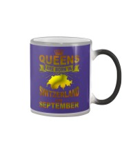 SWITZERLAND-GOLD-QUEES-SEPTEMBER Color Changing Mug thumbnail