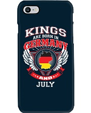 GERMANY-KING-BORN-IN-JULY Phone Case thumbnail