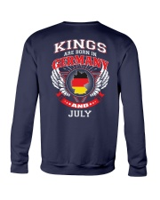 GERMANY-KING-BORN-IN-JULY Crewneck Sweatshirt thumbnail