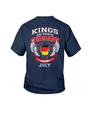 GERMANY-KING-BORN-IN-JULY Youth T-Shirt thumbnail