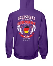 GERMANY-KING-BORN-IN-JULY Hooded Sweatshirt thumbnail