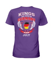 GERMANY-KING-BORN-IN-JULY Ladies T-Shirt thumbnail