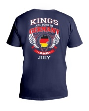 GERMANY-KING-BORN-IN-JULY V-Neck T-Shirt thumbnail