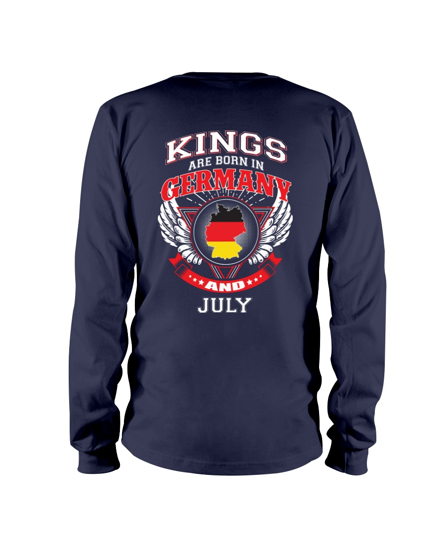 GERMANY-KING-BORN-IN-JULY Long Sleeve Tee