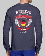 GERMANY-KING-BORN-IN-JULY Long Sleeve Tee lifestyle-unisex-longsleeve-back-1