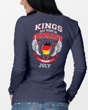 GERMANY-KING-BORN-IN-JULY Long Sleeve Tee lifestyle-unisex-longsleeve-back-3