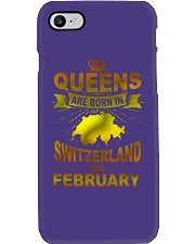 SWITZERLAND-GOLD-QUEES-FEBRUARY Phone Case thumbnail
