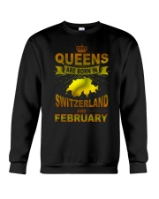 SWITZERLAND-GOLD-QUEES-FEBRUARY Crewneck Sweatshirt thumbnail