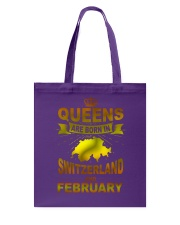 SWITZERLAND-GOLD-QUEES-FEBRUARY Tote Bag thumbnail