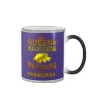SWITZERLAND-GOLD-QUEES-FEBRUARY Color Changing Mug thumbnail