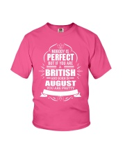 BRITISH-YOU-PERFECT-AUGUST Youth T-Shirt thumbnail