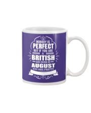 BRITISH-YOU-PERFECT-AUGUST Mug thumbnail