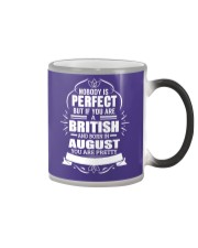 BRITISH-YOU-PERFECT-AUGUST Color Changing Mug thumbnail