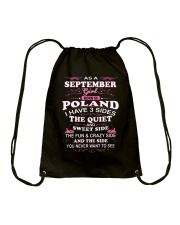 POLAND-QUIET-SEPTEMBER Drawstring Bag tile