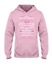 POLAND-QUIET-SEPTEMBER Hooded Sweatshirt front