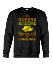 SWITZERLAND-GOLD-QUEES-JANUARY Crewneck Sweatshirt thumbnail