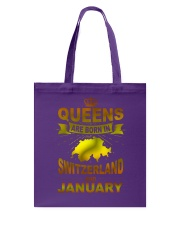 SWITZERLAND-GOLD-QUEES-JANUARY Tote Bag thumbnail