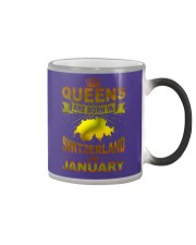SWITZERLAND-GOLD-QUEES-JANUARY Color Changing Mug thumbnail
