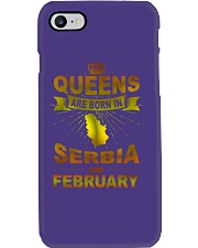 SERBIA-GOLD-QUEES-FEBRUARY Phone Case thumbnail