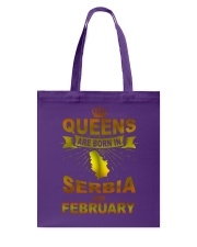 SERBIA-GOLD-QUEES-FEBRUARY Tote Bag thumbnail