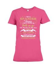SPANISH-CONT-May Premium Fit Ladies Tee thumbnail