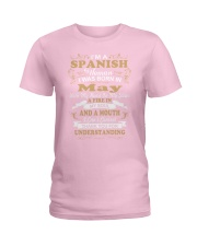 SPANISH-CONT-May Ladies T-Shirt front