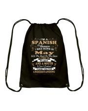 SPANISH-CONT-May Drawstring Bag thumbnail