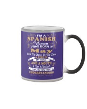 SPANISH-CONT-May Color Changing Mug tile
