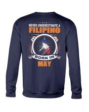 FILIPINO-MAY-NEVER-UNDERESTIMATE Crewneck Sweatshirt thumbnail