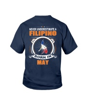 FILIPINO-MAY-NEVER-UNDERESTIMATE Youth T-Shirt thumbnail