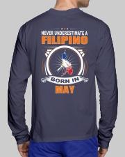 FILIPINO-MAY-NEVER-UNDERESTIMATE Long Sleeve Tee lifestyle-unisex-longsleeve-back-1