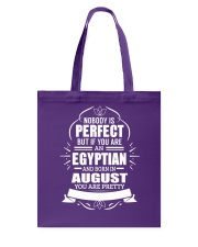 EGYPTIAN-YOU-PERFECT-AUGUST Tote Bag thumbnail