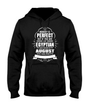 EGYPTIAN-YOU-PERFECT-AUGUST Hooded Sweatshirt front