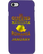 ROMANIA-GOLD-QUEES-JANUARY Phone Case thumbnail