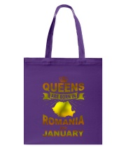 ROMANIA-GOLD-QUEES-JANUARY Tote Bag thumbnail