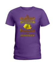 ROMANIA-GOLD-QUEES-JANUARY Ladies T-Shirt thumbnail