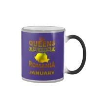 ROMANIA-GOLD-QUEES-JANUARY Color Changing Mug thumbnail