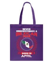 MEXICAN-COOL-MAN-APRIL Tote Bag thumbnail