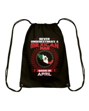 MEXICAN-COOL-MAN-APRIL Drawstring Bag thumbnail