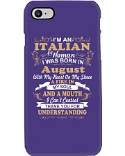 ITALIAN-CONT-August Phone Case thumbnail
