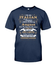 ITALIAN-CONT-August Classic T-Shirt tile