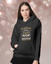 ITALIAN-CONT-August Hooded Sweatshirt lifestyle-holiday-hoodie-front-1