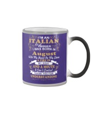 ITALIAN-CONT-August Color Changing Mug thumbnail