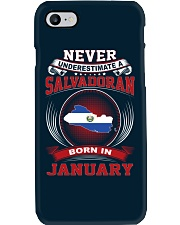 SALVADORAN-NEVER-UNDERESTIMATE-BORN-IN-JANUARY Phone Case thumbnail
