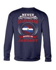 SALVADORAN-NEVER-UNDERESTIMATE-BORN-IN-JANUARY Crewneck Sweatshirt thumbnail