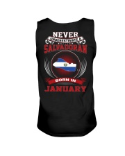 SALVADORAN-NEVER-UNDERESTIMATE-BORN-IN-JANUARY Unisex Tank thumbnail